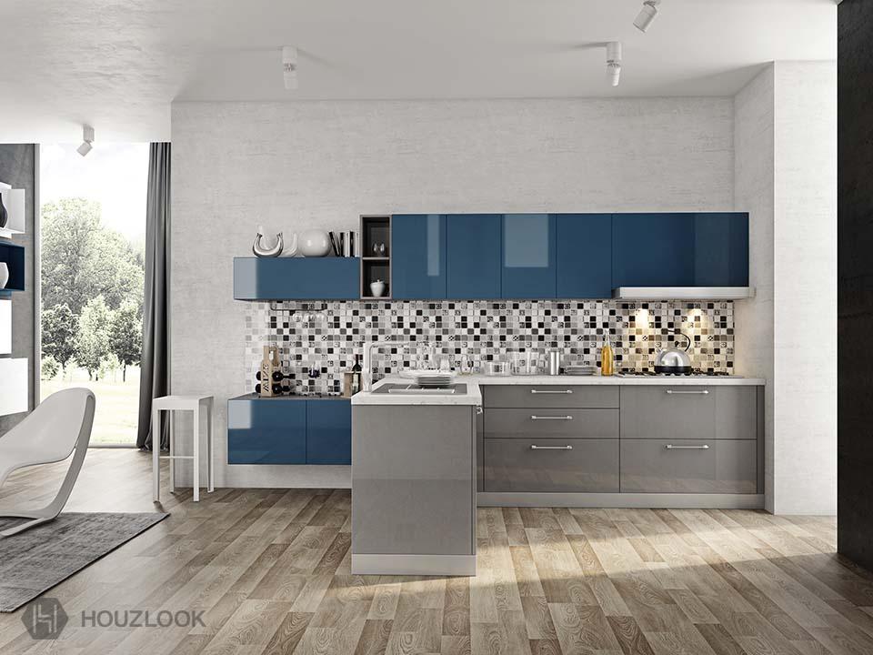 9 X7 Premier L Shape Kitchen Houzlook