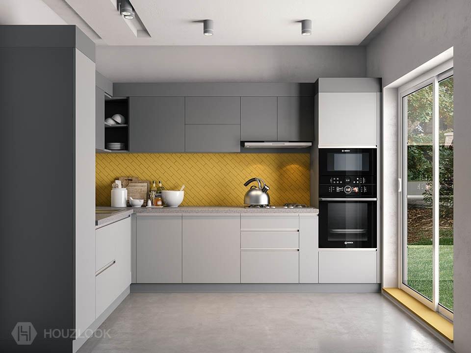 10 X12 Phonix L Shape Kitchen Houzlook