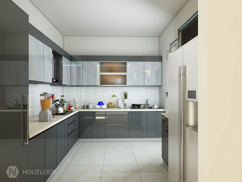 10 X9 Harmony L Shape Kitchen Houzlook