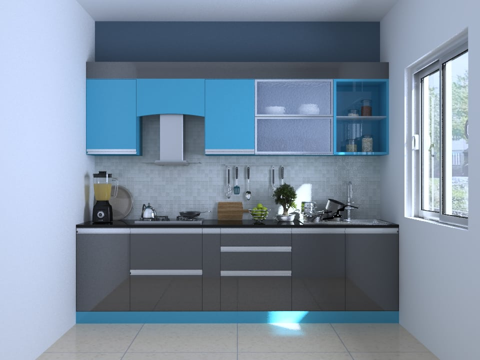 10 X7 Oberon Straight Kitchen Houzlook