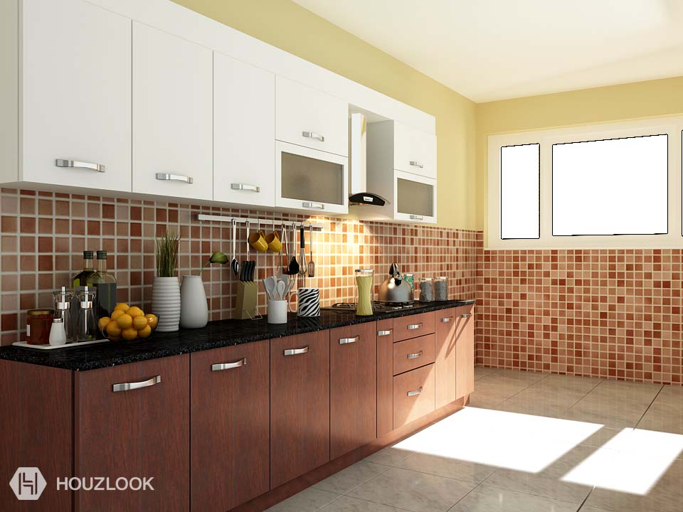 9 X7 Anium Straight Kitchen Houzlook