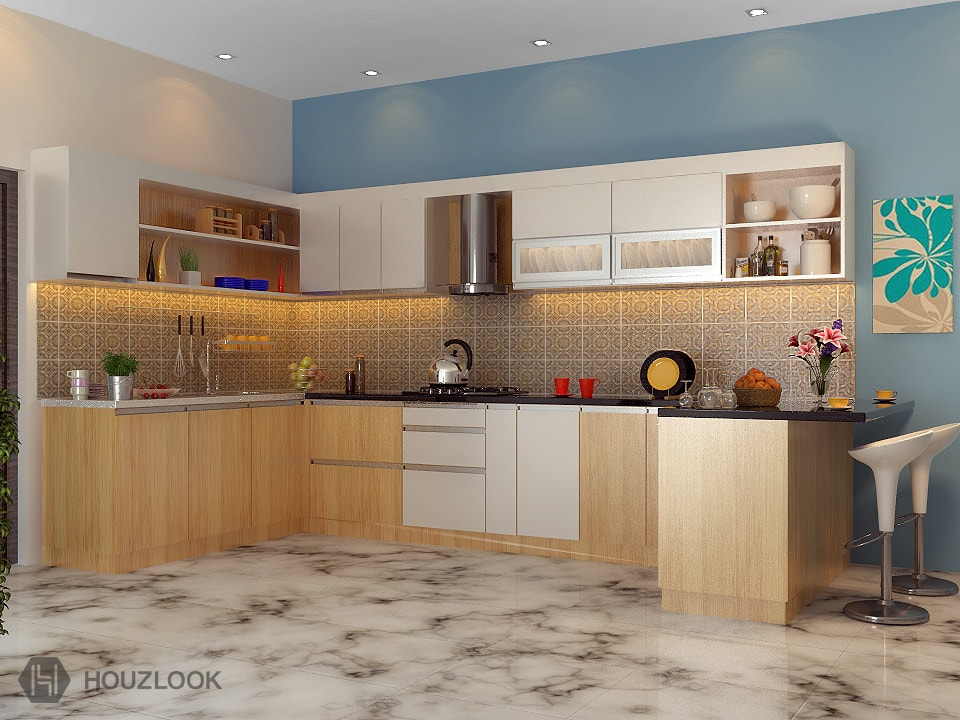 7 X8 X11 Supremo U Shape Kitchen Houzlook