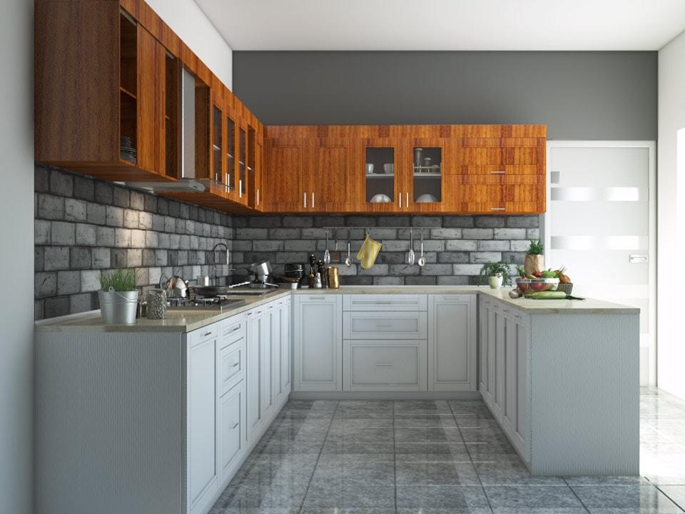 9u0027X8u0027X7u0027 Atlas U Shape Kitchen