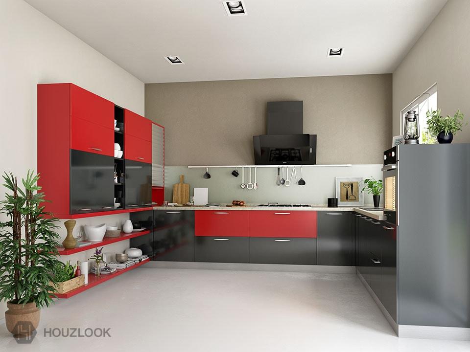 9 X8 X7 Atlas U Shape Kitchen Houzlook