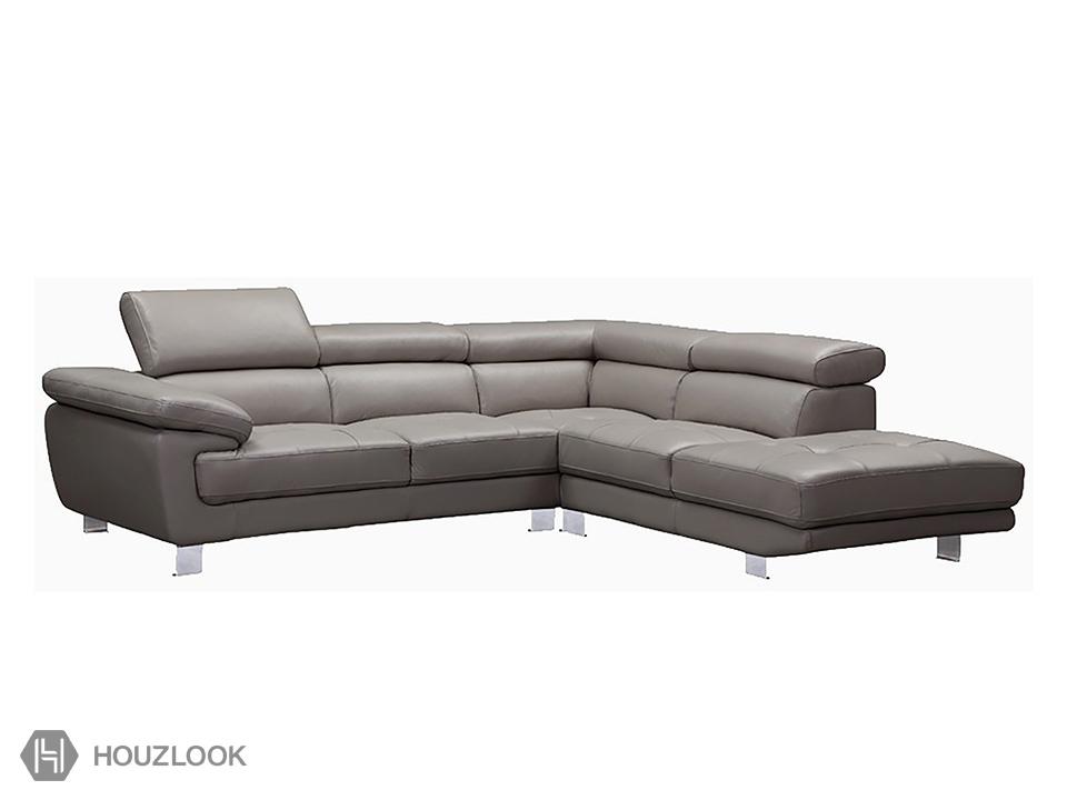 Calliou 5 Seater Leather Sofa